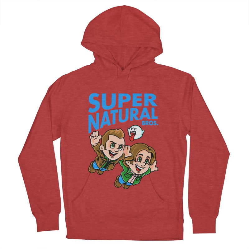 Super Natural Bros Men's Pullover Hoody by harebrained's Artist Shop