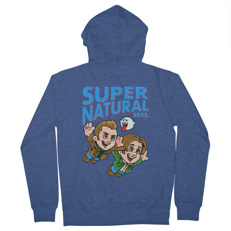 Super Natural Bros Women's Zip-Up Hoody by harebrained's Artist Shop