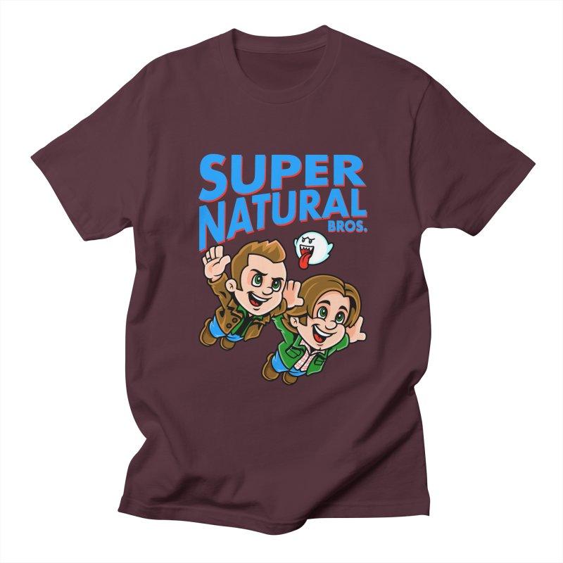 Super Natural Bros Women's Regular Unisex T-Shirt by harebrained's Artist Shop