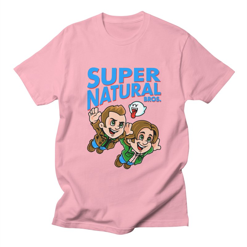 Super Natural Bros Women's Unisex T-Shirt by harebrained's Artist Shop