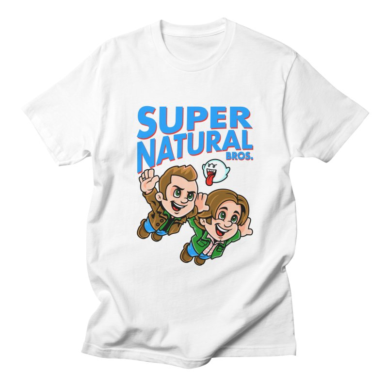 Super Natural Bros Women's Unisex T-Shirt by harebrained's Artist Shop