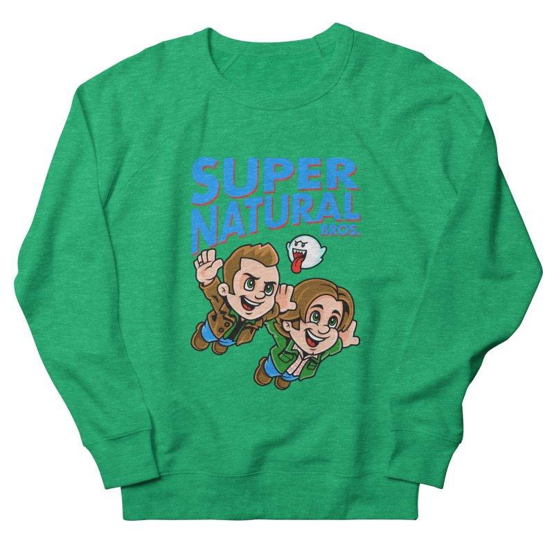 Super Natural Bros Women's Sweatshirt by harebrained's Artist Shop