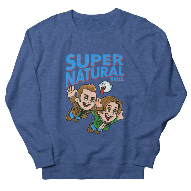 Super Natural Bros Women's French Terry Sweatshirt by harebrained's Artist Shop