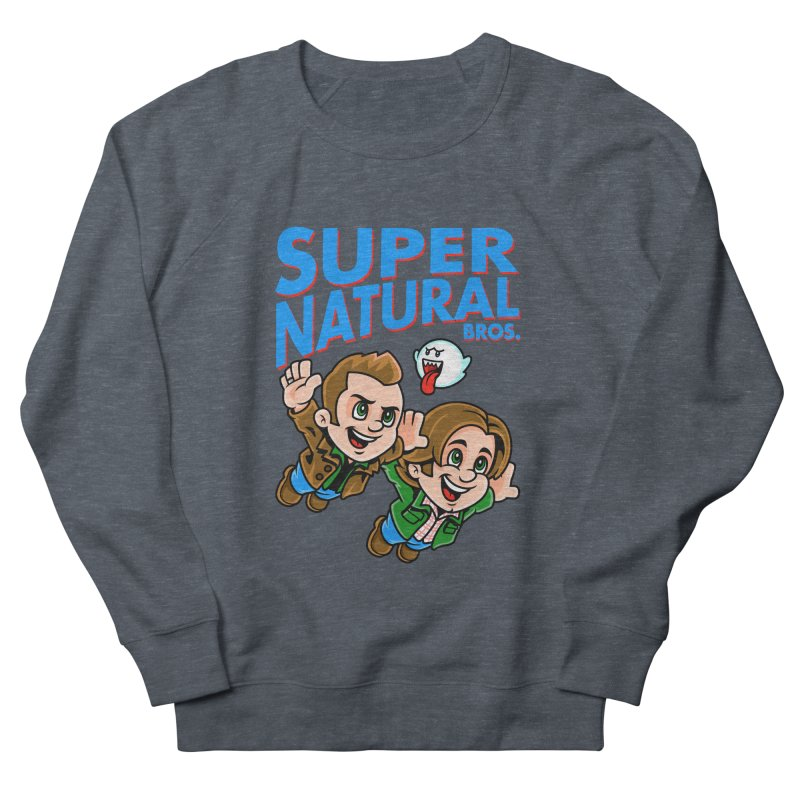 Super Natural Bros Women's Sweatshirt by harebrained's Artist Shop