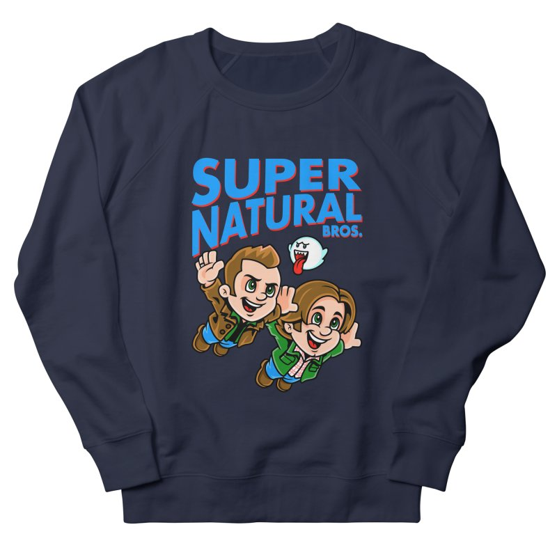 Super Natural Bros Men's Sweatshirt by harebrained's Artist Shop