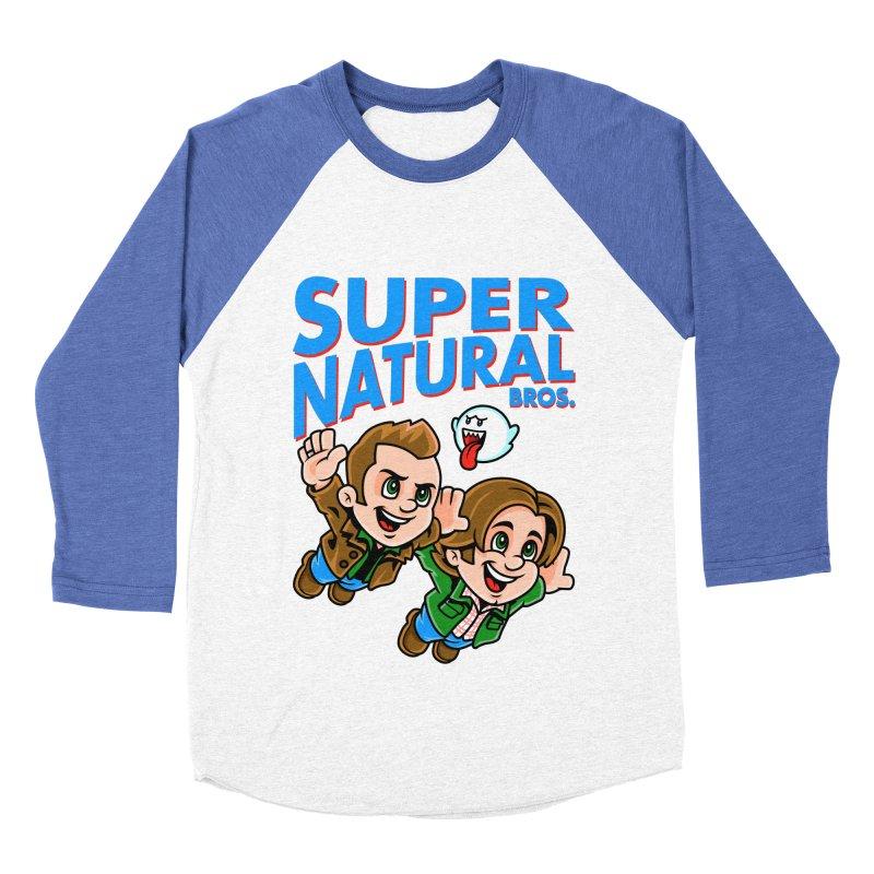 Super Natural Bros Women's Baseball Triblend T-Shirt by harebrained's Artist Shop