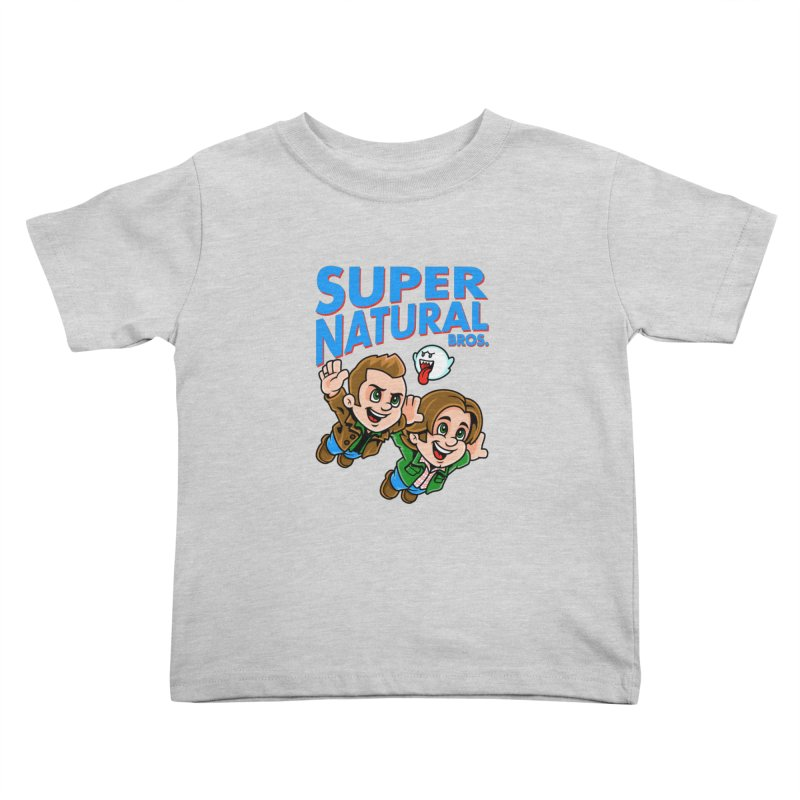 Super Natural Bros Kids Toddler T-Shirt by harebrained's Artist Shop