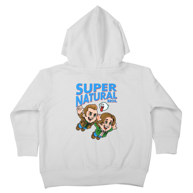 Super Natural Bros Kids Toddler Zip-Up Hoody by harebrained's Artist Shop