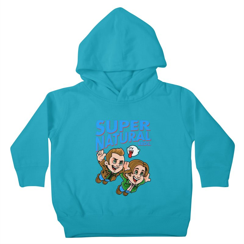Super Natural Bros Kids Toddler Pullover Hoody by harebrained's Artist Shop