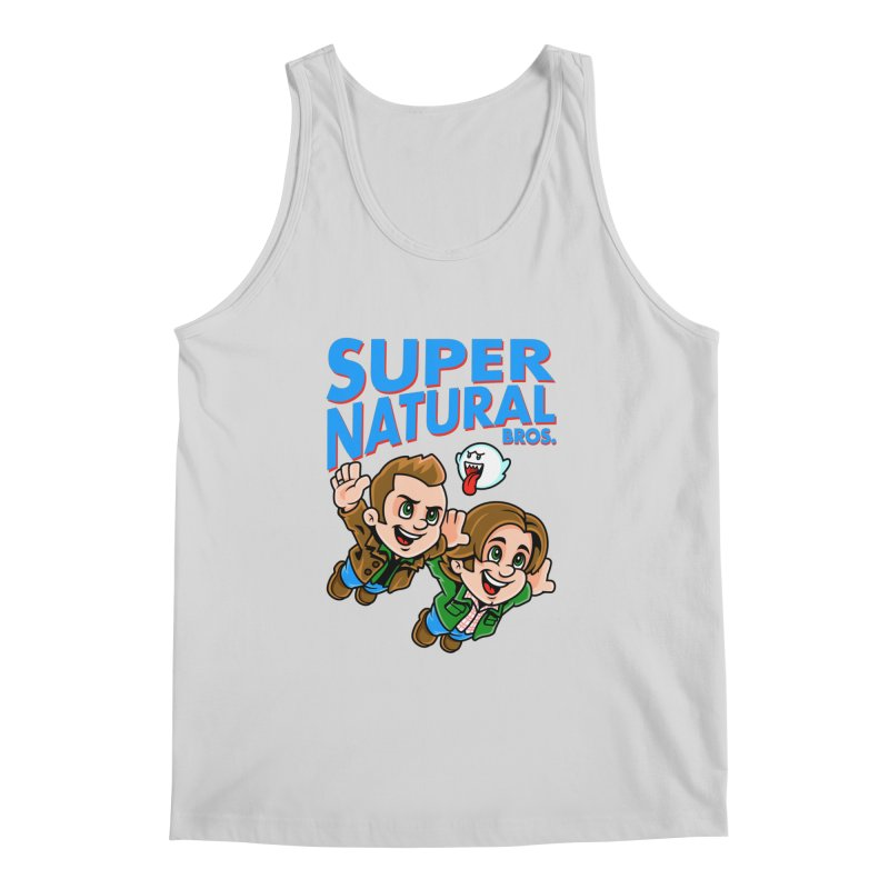 Super Natural Bros Men's Tank by harebrained's Artist Shop
