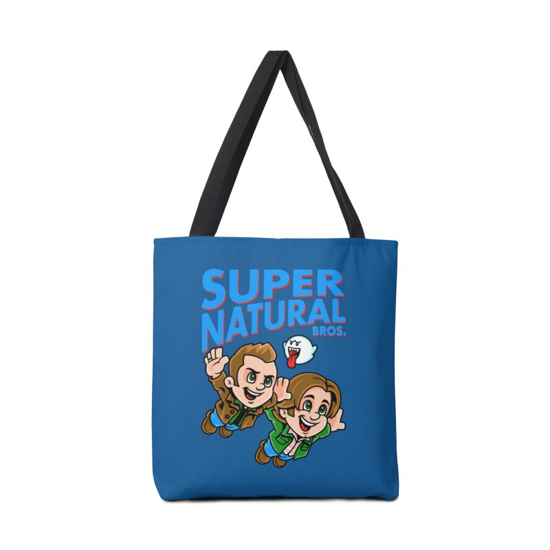 Super Natural Bros Accessories Bag by harebrained's Artist Shop