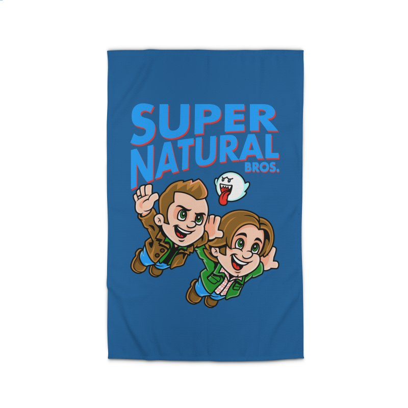 Super Natural Bros Home Rug by harebrained's Artist Shop