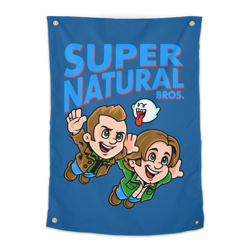 Super Natural Bros Home Tapestry by harebrained's Artist Shop