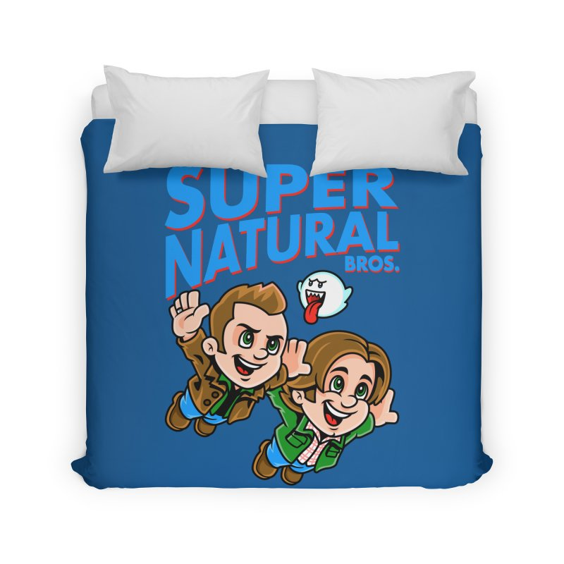 Super Natural Bros Home Duvet by harebrained's Artist Shop