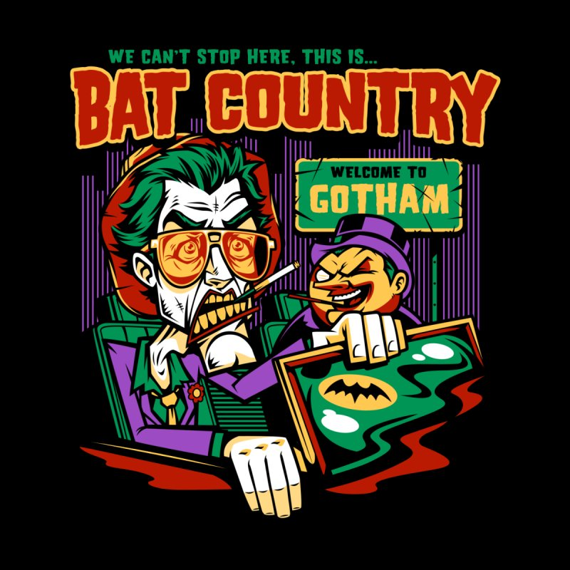 Bat Country (Penguin) by harebrained's Artist Shop