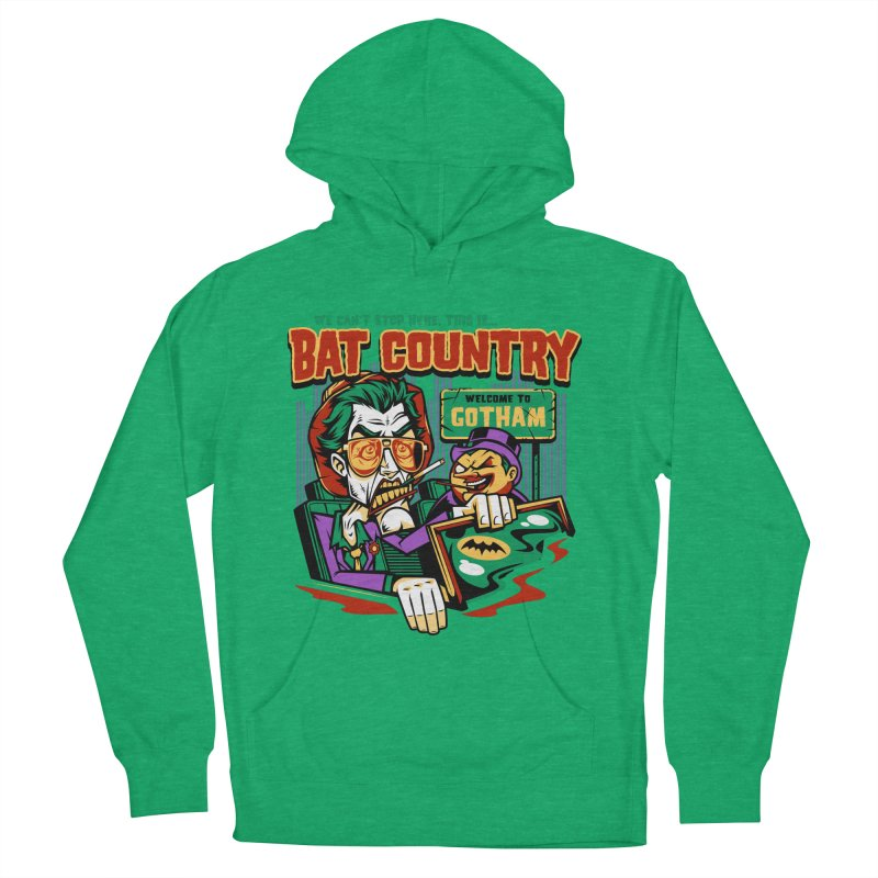 Bat Country (Penguin) Women's Pullover Hoody by harebrained's Artist Shop