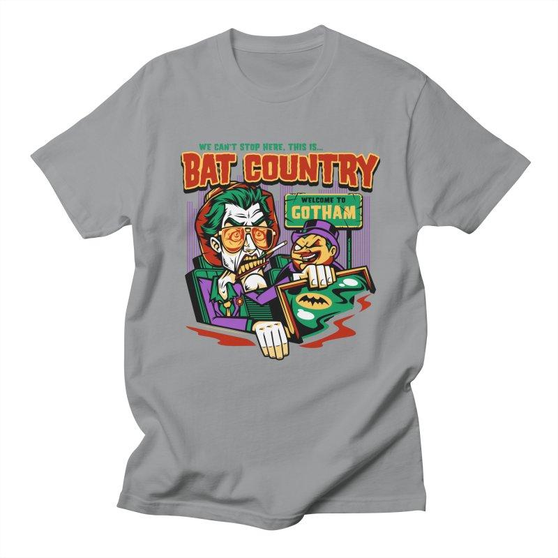 Bat Country (Penguin) Women's Regular Unisex T-Shirt by harebrained's Artist Shop