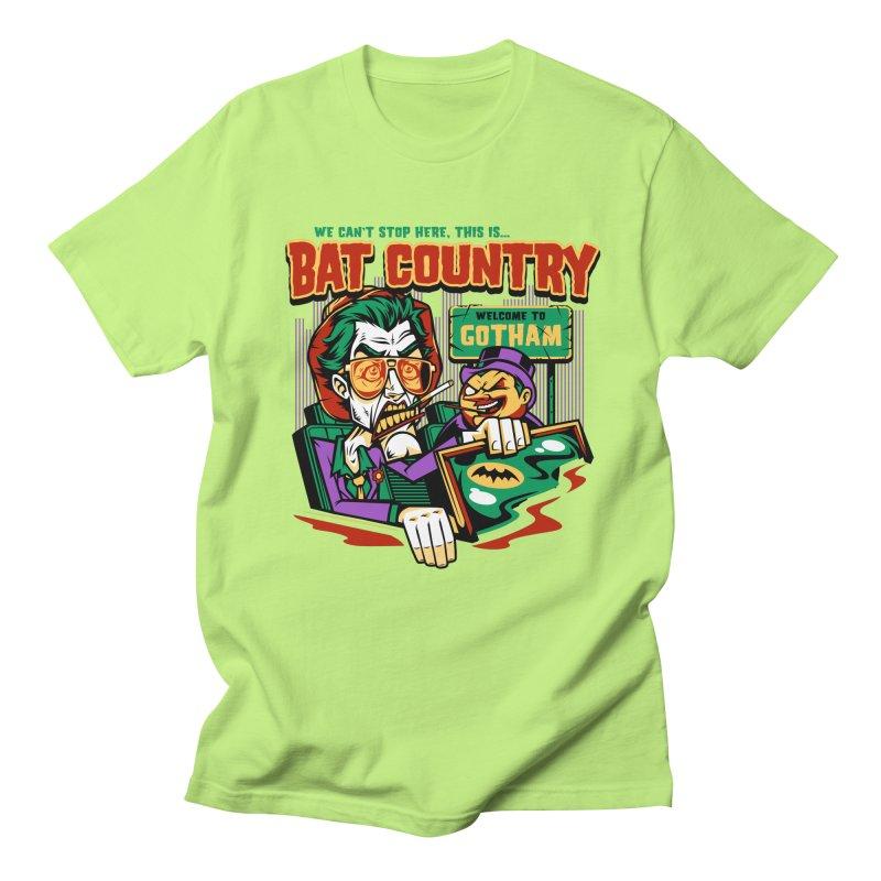 Bat Country (Penguin) Women's Unisex T-Shirt by harebrained's Artist Shop