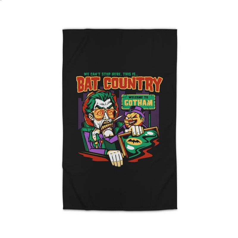 Bat Country (Penguin) Home Rug by harebrained's Artist Shop