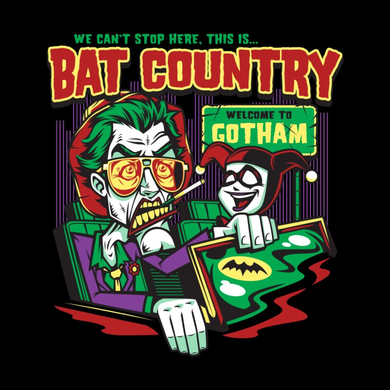 Bat Country (Harley) Kids Pullover Hoody by harebrained's Artist Shop