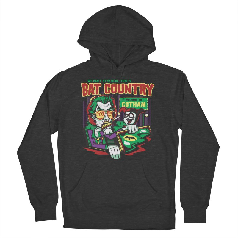 Bat Country (Harley) Men's Pullover Hoody by harebrained's Artist Shop
