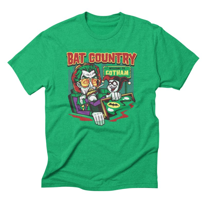 Bat Country (Harley) Men's Triblend T-Shirt by harebrained's Artist Shop
