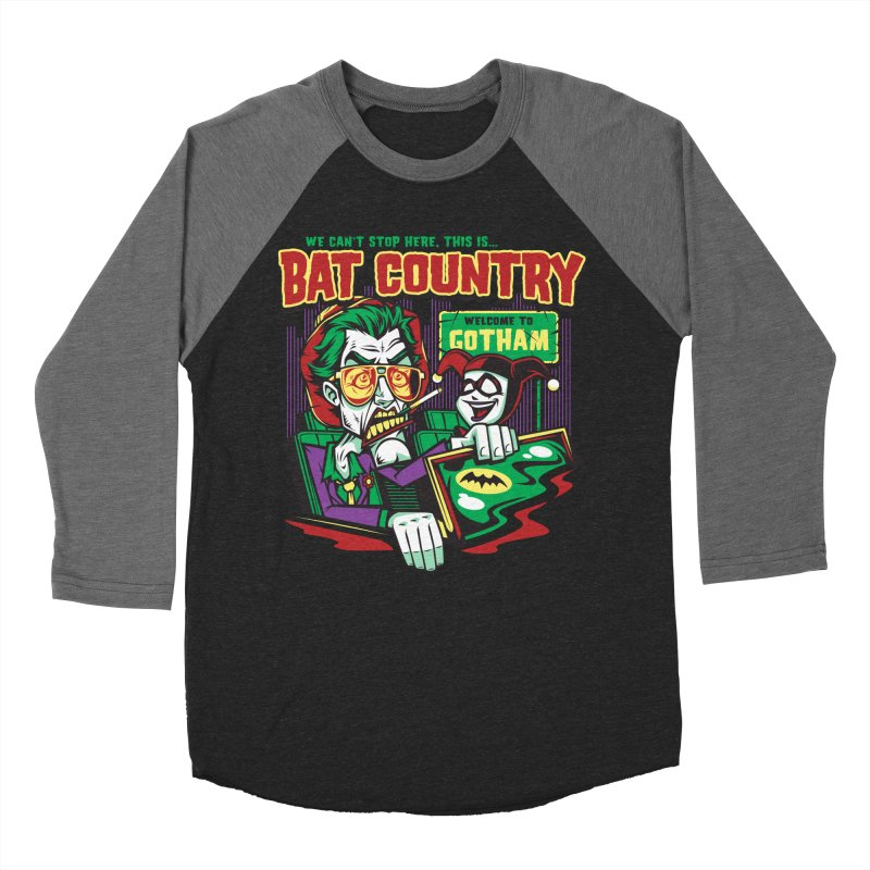 Bat Country (Harley) Men's Baseball Triblend Longsleeve T-Shirt by harebrained's Artist Shop