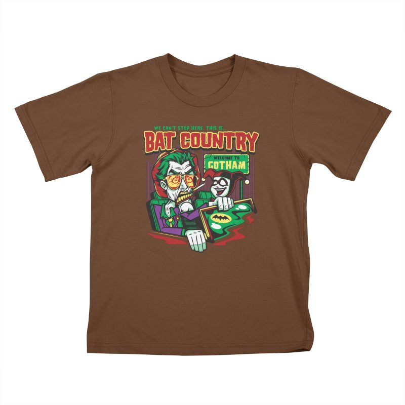 Bat Country (Harley) Kids T-Shirt by harebrained's Artist Shop
