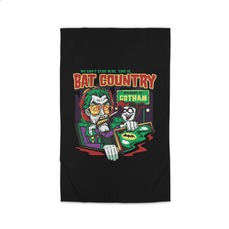 Bat Country (Harley) Home Rug by harebrained's Artist Shop