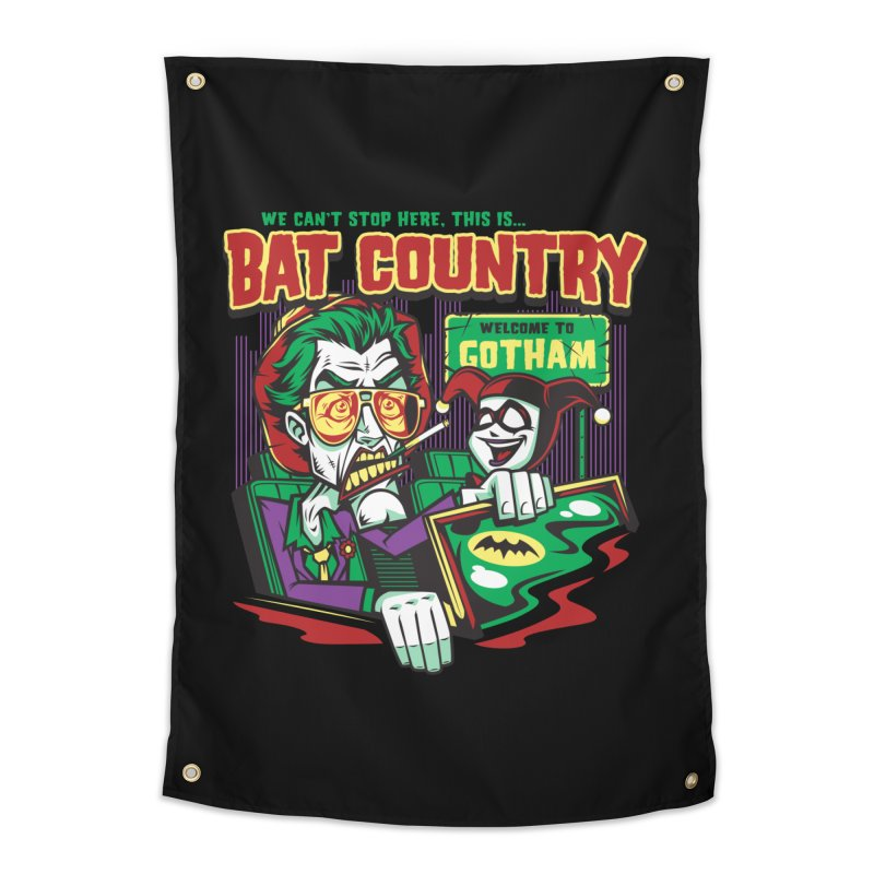 Bat Country (Harley) Home Tapestry by harebrained's Artist Shop