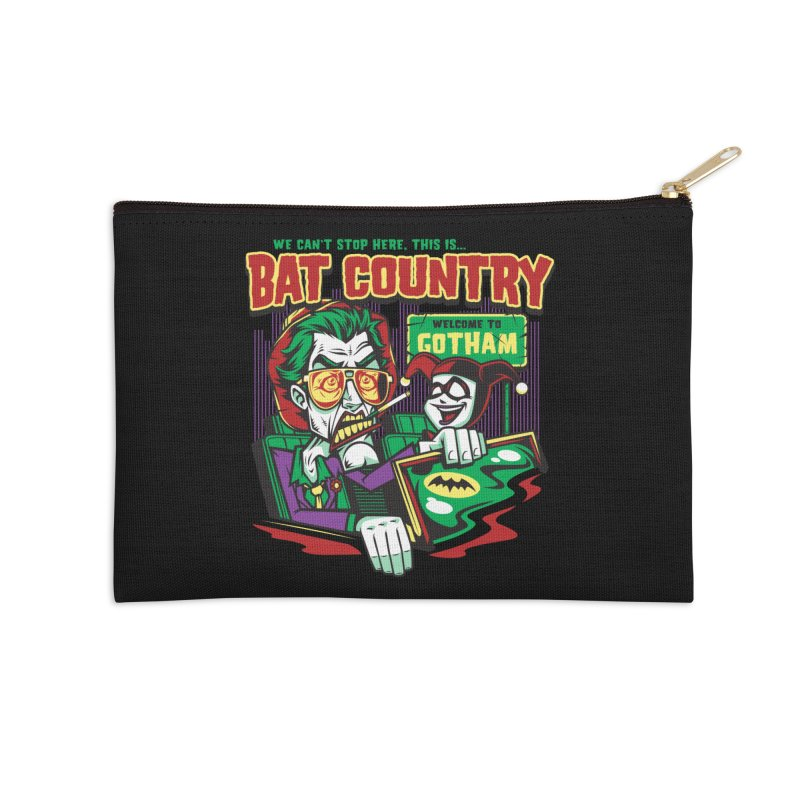 Bat Country (Harley) Accessories Zip Pouch by harebrained's Artist Shop