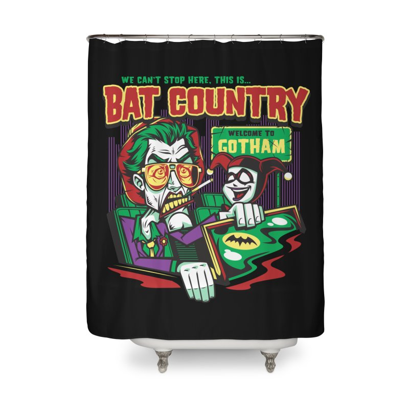 Bat Country (Harley) Home Shower Curtain by harebrained's Artist Shop