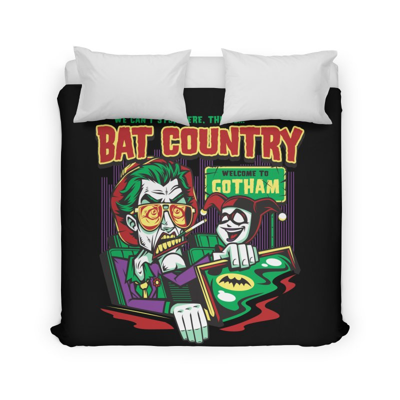 Bat Country (Harley) Home Duvet by harebrained's Artist Shop