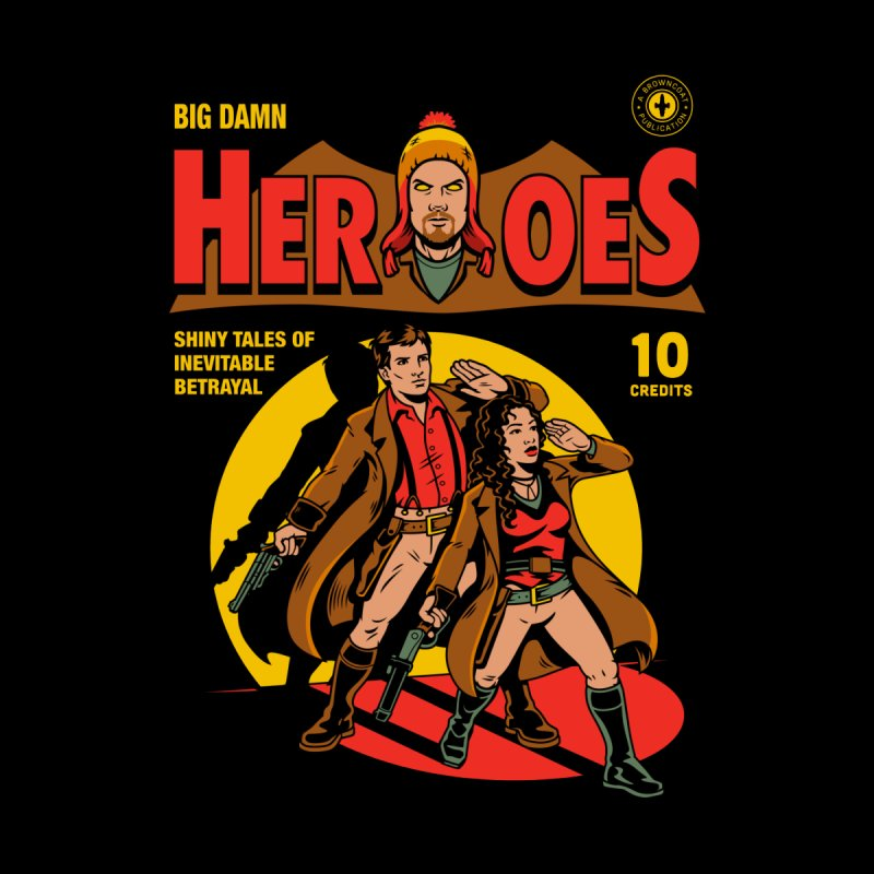 Big Damn Heroes Comic by harebrained's Artist Shop