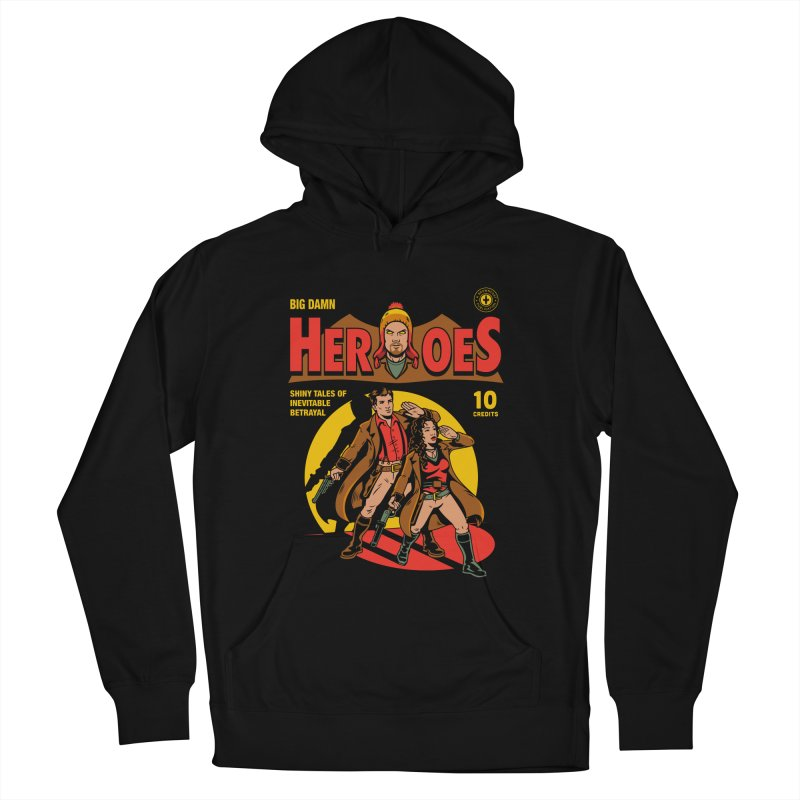 Big Damn Heroes Comic Women's Pullover Hoody by harebrained's Artist Shop
