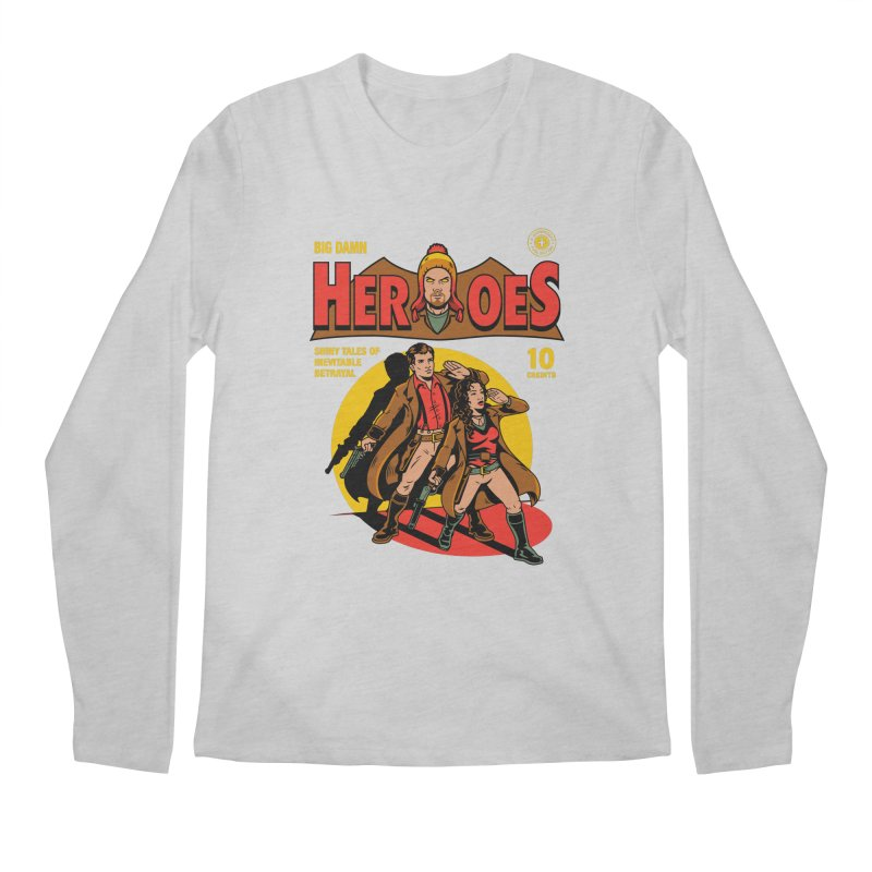 Big Damn Heroes Comic Men's Longsleeve T-Shirt by harebrained's Artist Shop