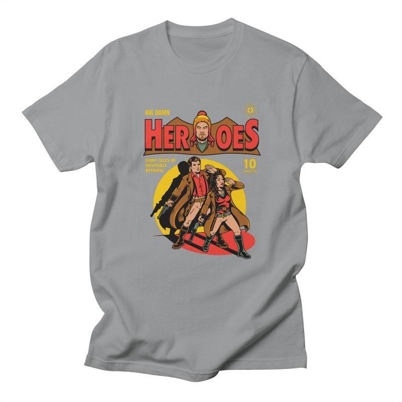 Big Damn Heroes Comic Men's Regular T-Shirt by harebrained's Artist Shop