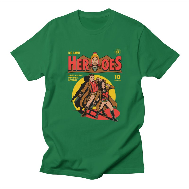 Big Damn Heroes Comic Women's Regular Unisex T-Shirt by harebrained's Artist Shop