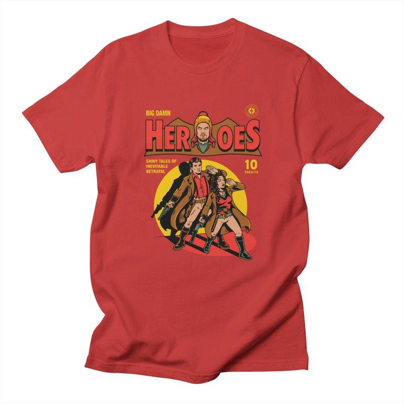 Big Damn Heroes Comic Men's T-Shirt by harebrained's Artist Shop