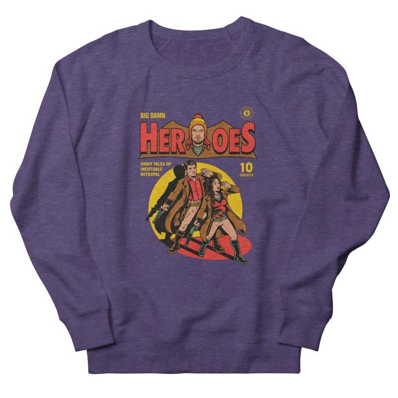 Big Damn Heroes Comic Men's French Terry Sweatshirt by harebrained's Artist Shop