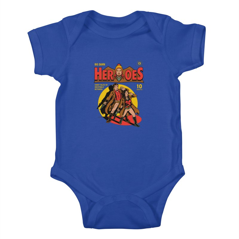Big Damn Heroes Comic Kids Baby Bodysuit by harebrained's Artist Shop