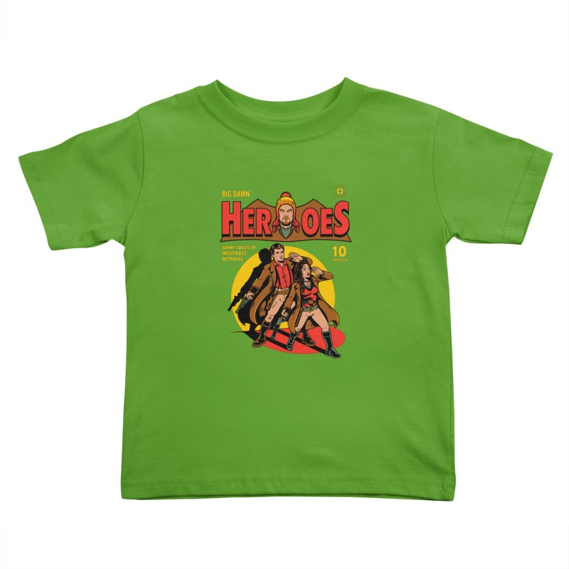 Big Damn Heroes Comic Kids Toddler T-Shirt by harebrained's Artist Shop