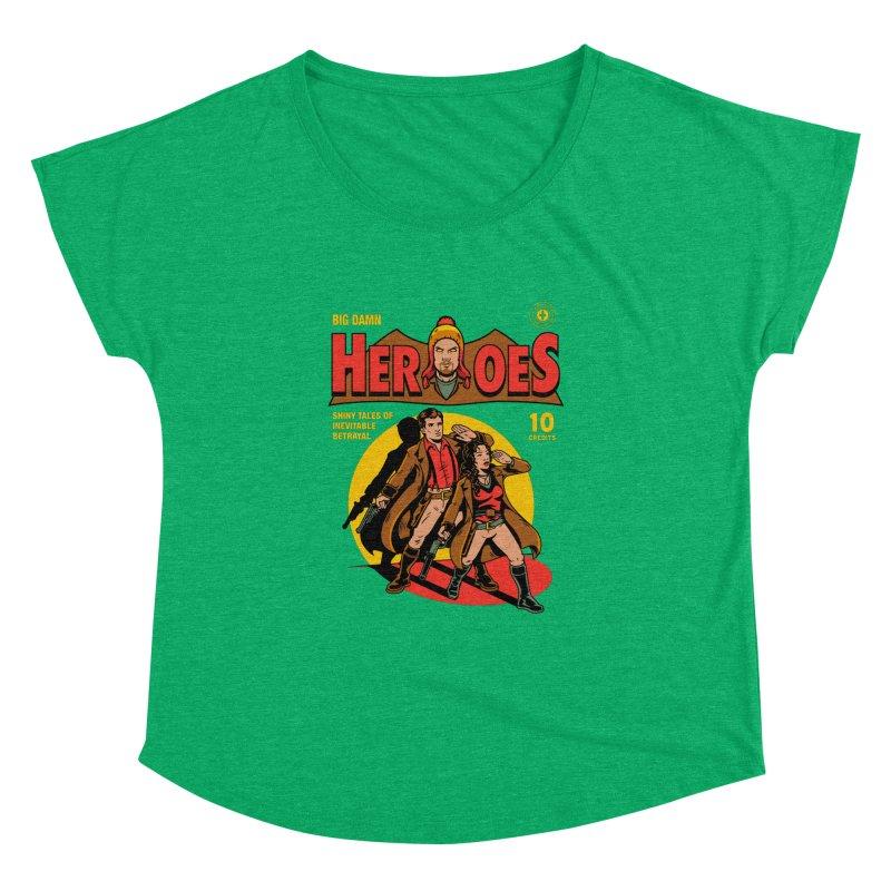 Big Damn Heroes Comic Women's Dolman by harebrained's Artist Shop