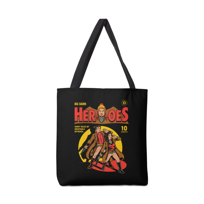 Big Damn Heroes Comic Accessories Bag by harebrained's Artist Shop