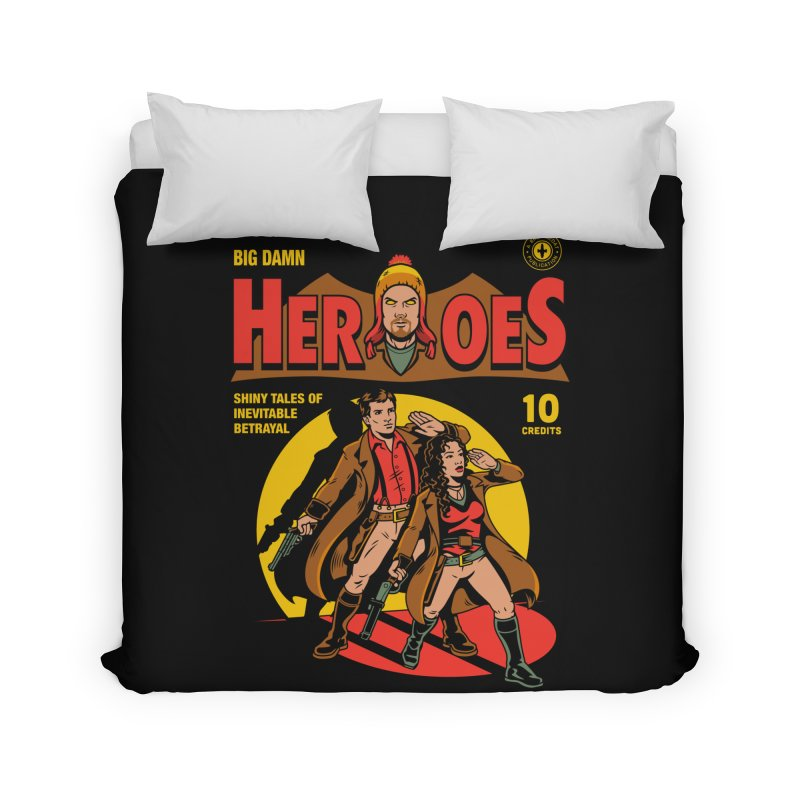 Big Damn Heroes Comic Home Duvet by harebrained's Artist Shop