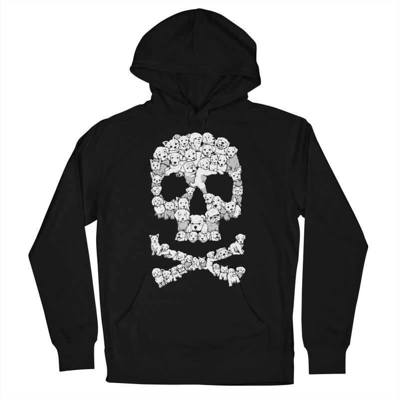 Pawsitively Bitchin Women's French Terry Pullover Hoody by harebrained's Artist Shop