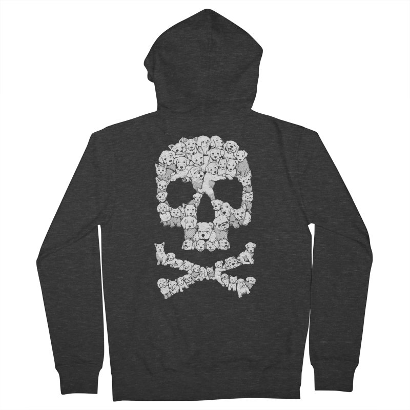 Pawsitively Bitchin Women's French Terry Zip-Up Hoody by harebrained's Artist Shop