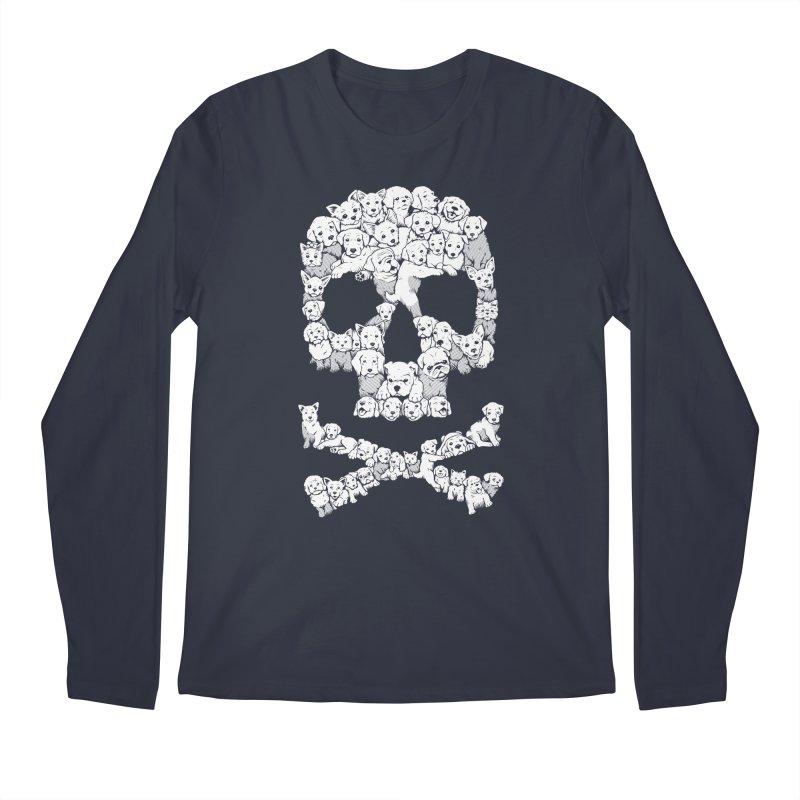 Pawsitively Bitchin Men's Regular Longsleeve T-Shirt by harebrained's Artist Shop