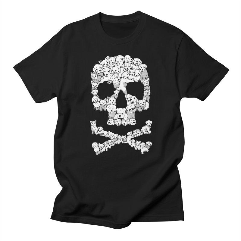 Pawsitively Bitchin Men's Regular T-Shirt by harebrained's Artist Shop