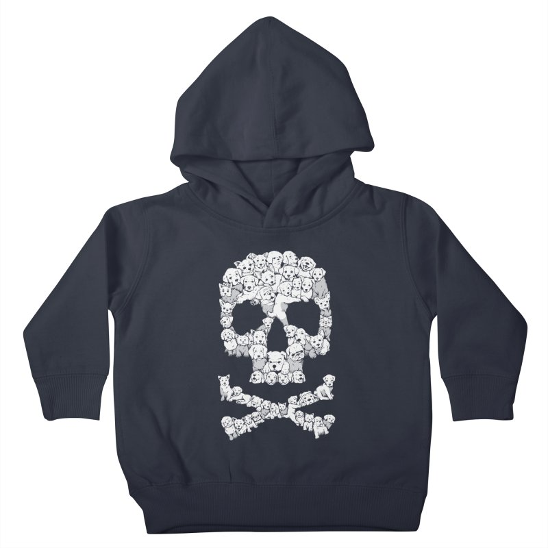 Pawsitively Bitchin Kids Toddler Pullover Hoody by harebrained's Artist Shop